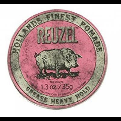 Pommade rose Reuzel tenue forte 113g